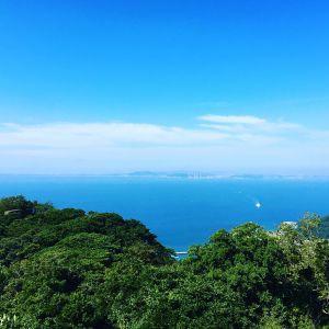 天気も良く東京湾を一望
